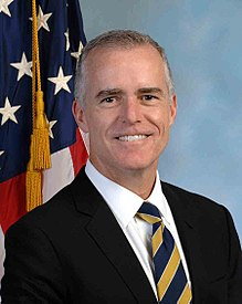 QAnon March 19 2019 - Andrew McCabe Official Portrait