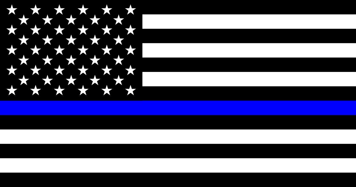 QAnon 19 June 2020 - Thin_Blue_Line_Flag_United_States
