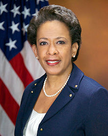 QAnon March 19 2019 - Loretta Lynch Official Portrait