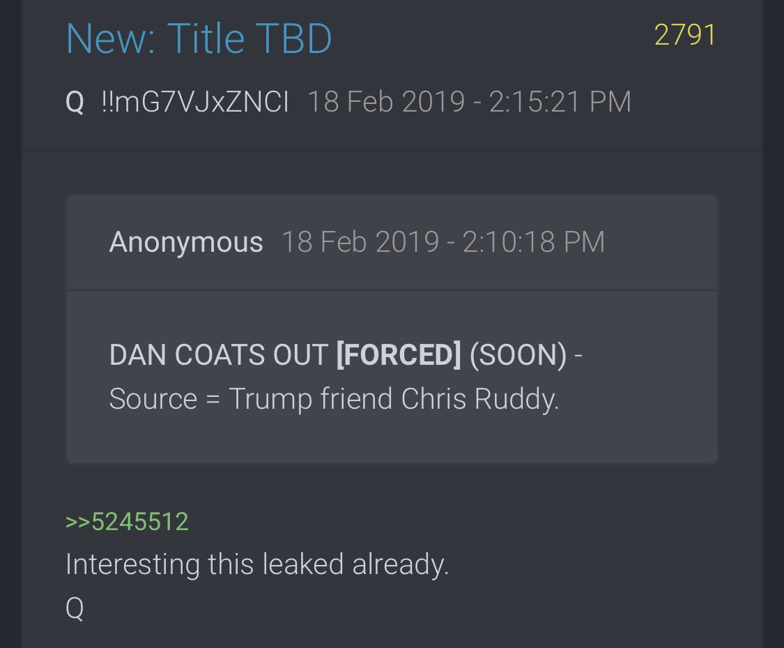 "PART 2 - CONTINUED: America Warned Is Unprepared For Q & Trump's Cataclysmic Destruction Of ""Deep State"" - Page 41 3ac342bba22ca55fb87b2c28e03c12f4727846c0588b44646a6905c2b43c659f"