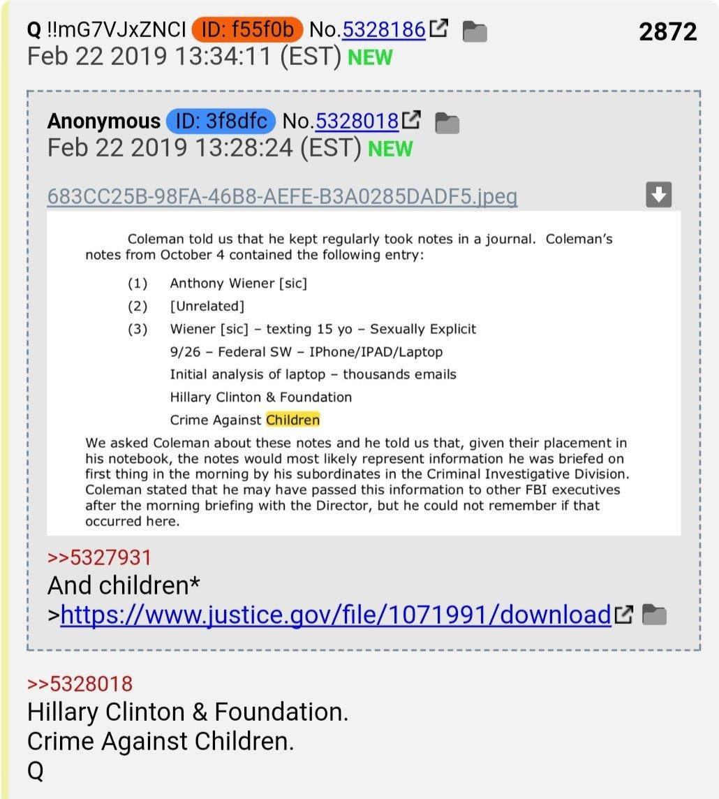 "PART 2 - CONTINUED: America Warned Is Unprepared For Q & Trump's Cataclysmic Destruction Of ""Deep State"" - Page 40 53178b30c31f3a299d00ff1e4a7214faa495b6361a4c81f23e8b8243658f25b6"