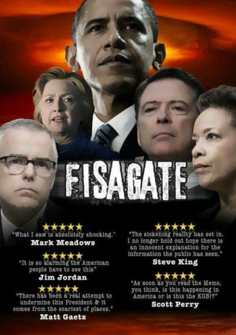 "QAnon May 24 2019 - Movie 1: ""FISAGATE"""