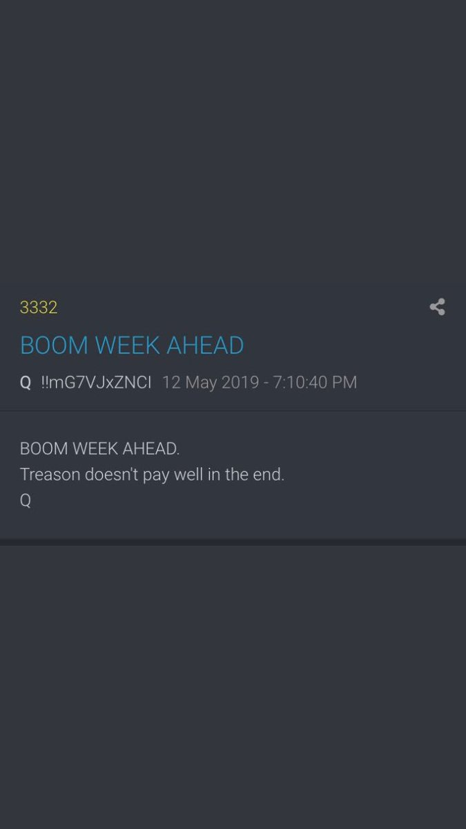QAnon 6 May 2020 - Dates are important