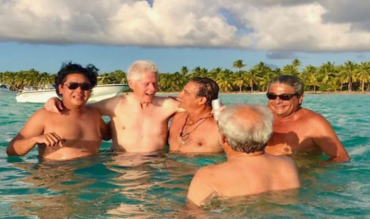 QAnon March 20 2019 - Bill Clinton Lolita Island