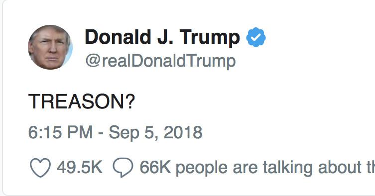 Treason?