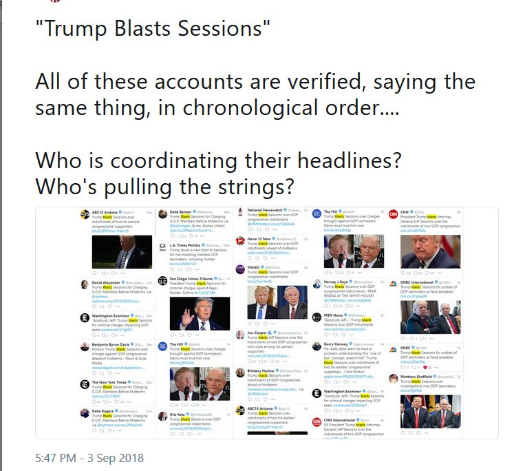 Trump Blast Session
