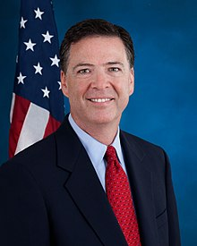 QAnon March 19 2019 - James Comey Official Portrait