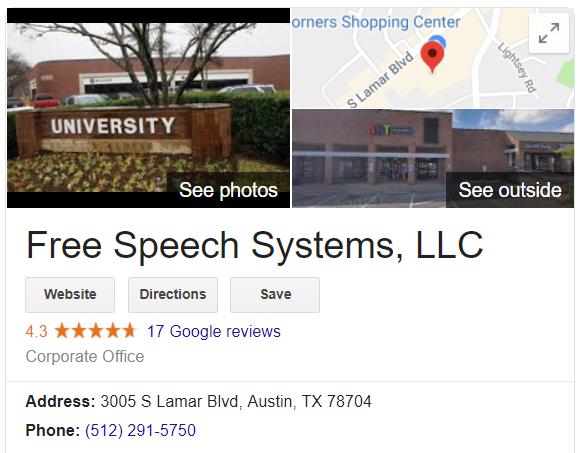 Infowars [Free Speech Systems LLC]