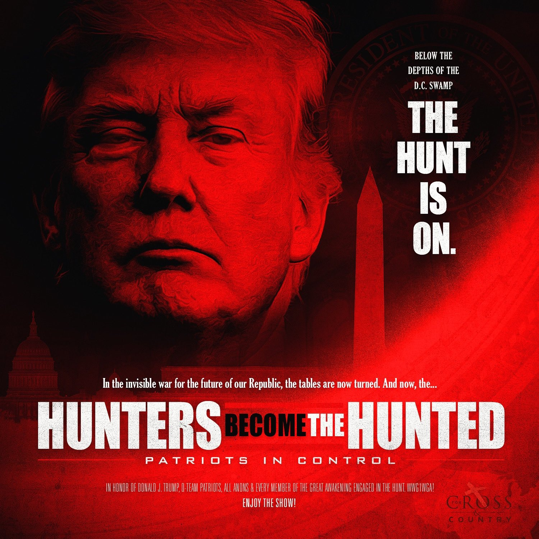 QAnon 9 Aprile 2020 - Hunters Become The Hunted