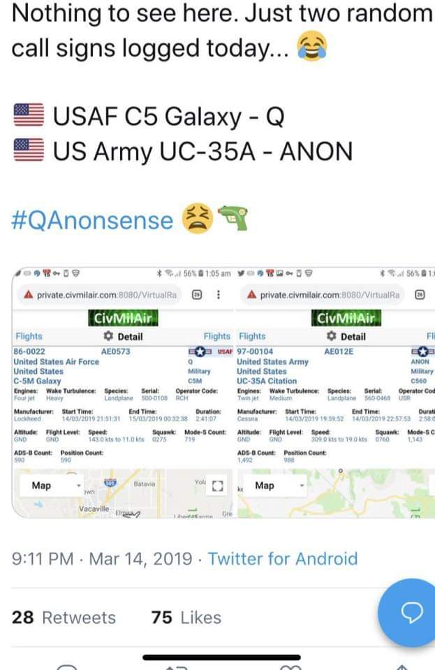 QAnon March 15 2019 - Powerful statement of UNITY
