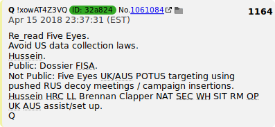 "PART 2 - CONTINUED: America Warned Is Unprepared For Q & Trump's Cataclysmic Destruction Of ""Deep State"" - Page 39 9ac9f8a623fd2fae694183408cfd8b1df1bc1419c008334c98dd15dbbbbfb859"