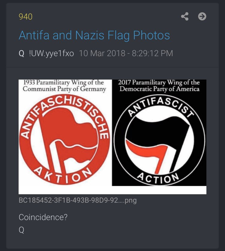 QAnon 8 September 2020 - Antifa