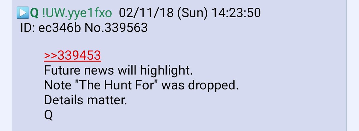 """PART 2 - CONTINUED: America Warned Is Unprepared For Q & Trump's Cataclysmic Destruction Of """"Deep State"""" - Page 20 A8c42a6f47e6dfde30b9e064a4b4fc6debb3a9ec16ba4d501e951bcc9ef8a9b5"""