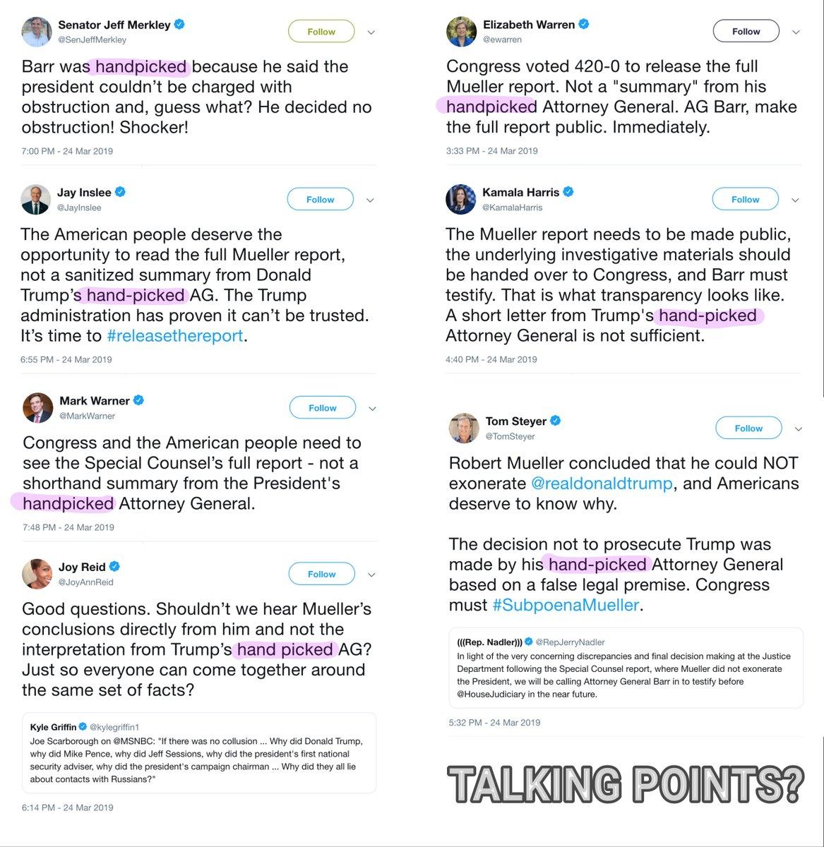QAnon March 25 2019 - Talking Points?
