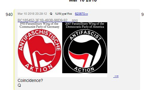 QAnon 30 May 2020 - Antifa Terrorists