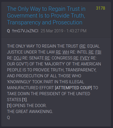"PART 2 - CONTINUED: America Warned Is Unprepared For Q & Trump's Cataclysmic Destruction Of ""Deep State"" - Page 37 E40311433cbd9dc053949d1d7dc7399af98374e3c1e565f4dc1dc611b09c208b"