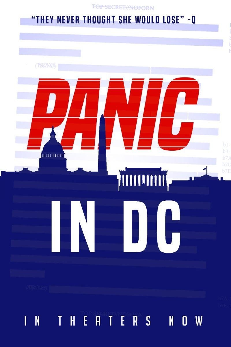 QAnon 20 August 2020 - Panic in DC