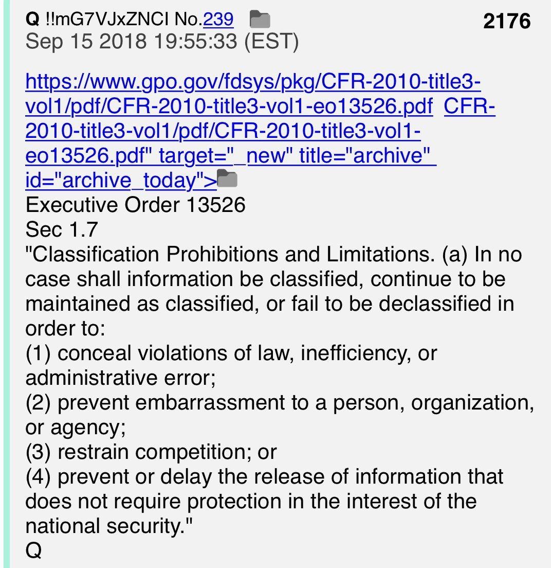 """PART 2 - CONTINUED: America Warned Is Unprepared For Q & Trump's Cataclysmic Destruction Of """"Deep State"""" - Page 24 E8d2cbb3575e0b43c6e74b10512ef747c185dfbfa688ebfaf793e05657766dd8"""