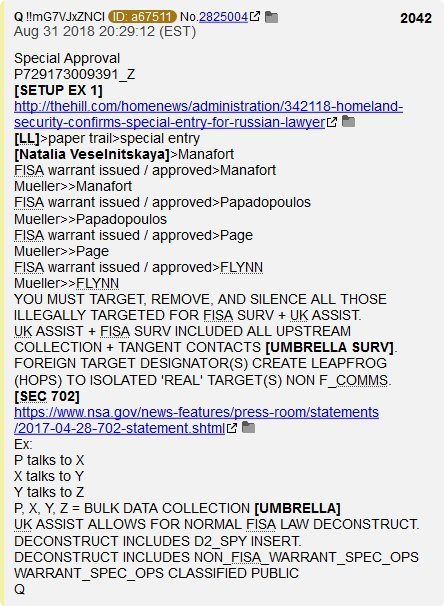 "PART 2 - CONTINUED: America Warned Is Unprepared For Q & Trump's Cataclysmic Destruction Of ""Deep State"" - Page 41 Eaed091c37f3f79bc2142ccffbce93fbcdb59a8def999e4369669ddac0de70fb"