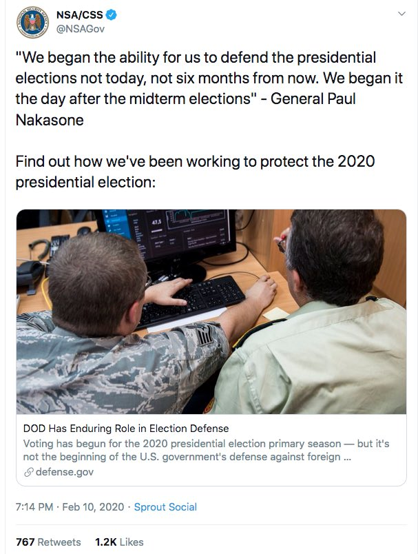 QAnon 11 June 2020 - DOD and Elections